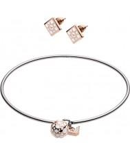 Emporio Armani EGS2486040 Комплект женских браслетов