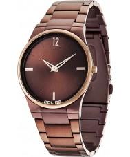 Police 12744JRSBZR-12M Мужские часы горизонт коричневый