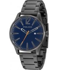 Police 14764JSU-03M Мужские серый сталь Далласа браслет часы