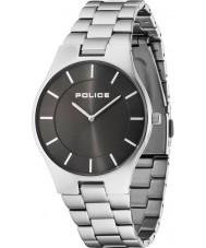 Police 14640MS-61M Mens пышность серебряный стальной браслет часы