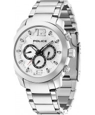 Police 13934JS-04M Мужские триумф серебра стали часы